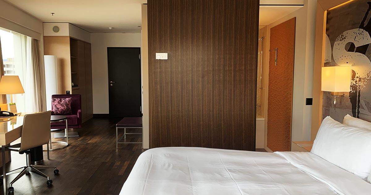 ルネッサンスホテルの部屋